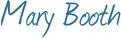 mary booth signature